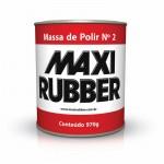 Massa de Polir N 2 Branca 1kg Maxi Rubber