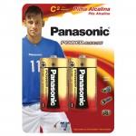 Pilha Panasonic Alcalina Lr14 Média Com 2 Unidades