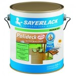 Verniz para Deck Polideck Sayerlack 3,6lts 3
