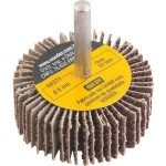 Roda de Lixa para Furadeira 50 x 20mm com Haste Grão 36 Vonder