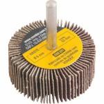 Roda de Lixa para Furadeira 50 x 20mm com Haste Grão 80 Vonder
