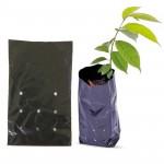 Saco Para Mudas De Plástico Preto 15 X 25 Cm Com 500 Unidades