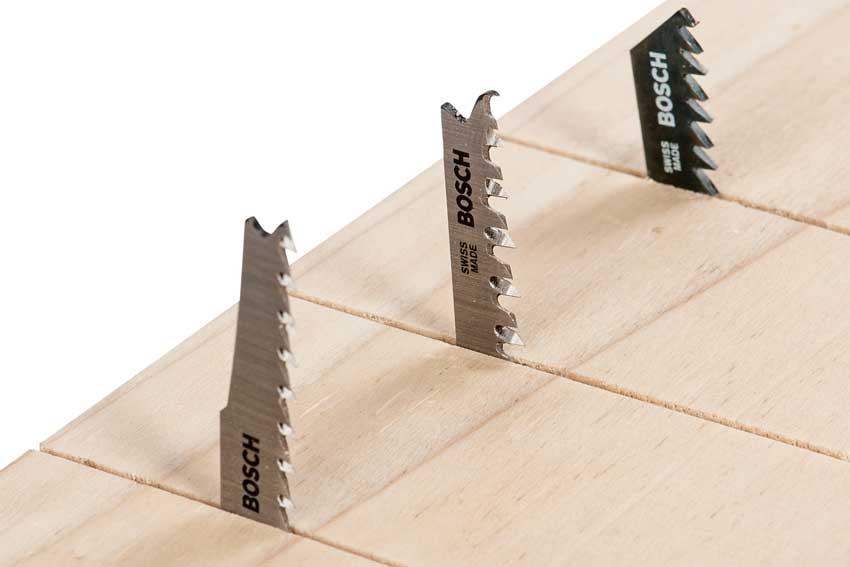 Modelos diversos de Lâminas de Serra Tico Tico